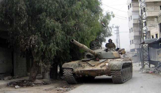 Syrian Army, Hezbollah attempt to enter new East Ghouta district