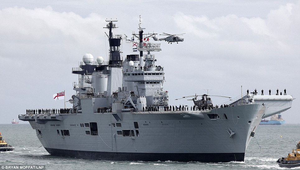 HMS Illustrious, Britain's Last Working Aircraft Carrier, To Be Sold For Scrap