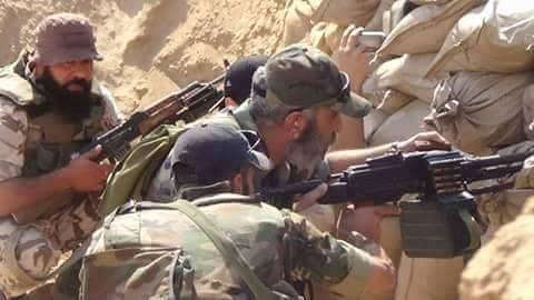 Syrian Army Counter-Attacks in Western Deir Ezzor
