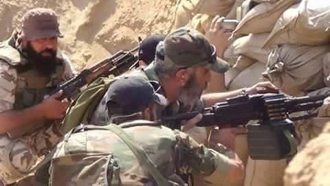 Syrian Army Counter-Attacks in Western Deir Ezzor