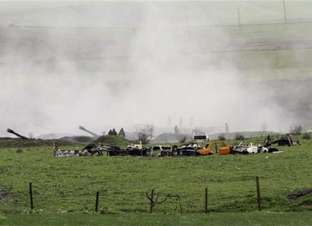 Fighting On The Armenian-Azerbaijani Border Continues