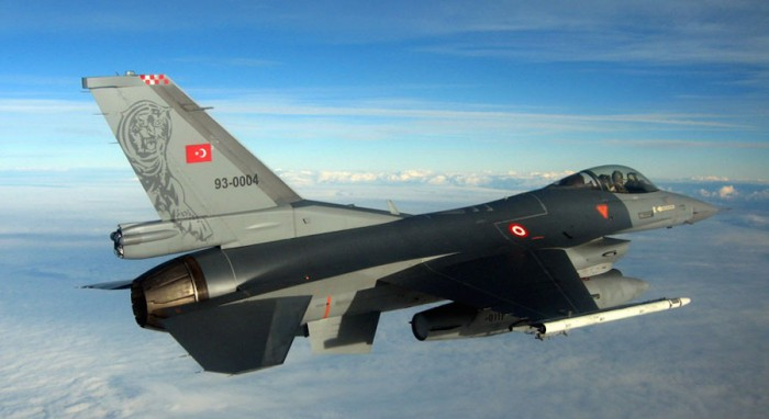 Turkish Warplanes Conduct Air Raids in Northern Iraq, Southern Turkey