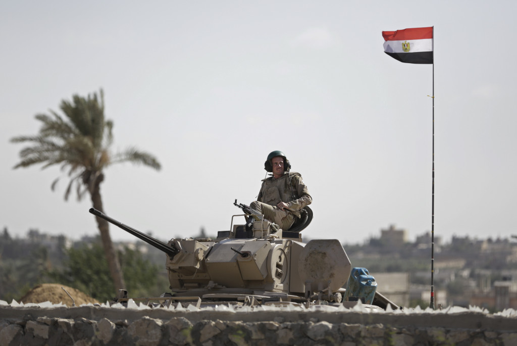 Egypt's Army Kills 85 militants in Sinai Peninsula