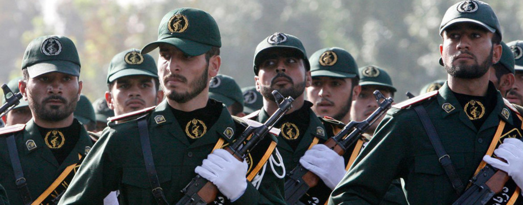 Which forces IRGC deployed in Syria?