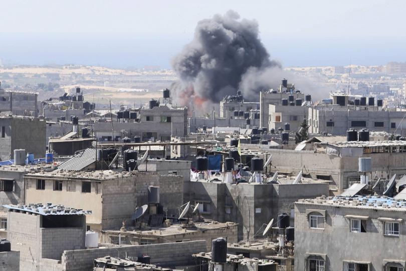 Israel strikes infrastructure in Gaza Strip