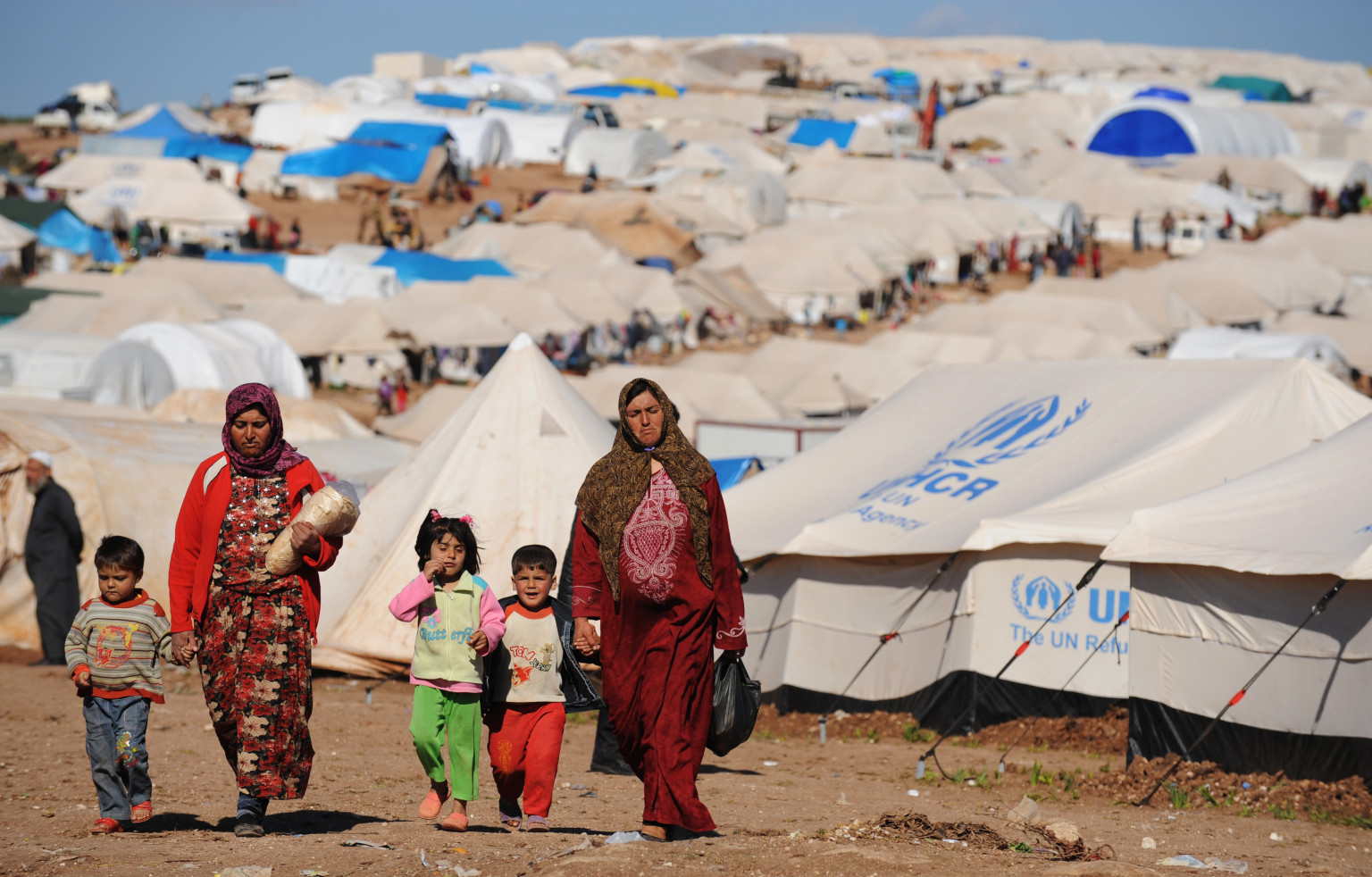 Population in Syria Suffers from Sanctions Imposed by the West