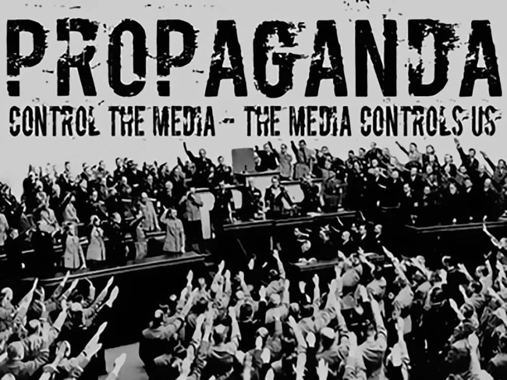 mainstream media act as propaganda conduits