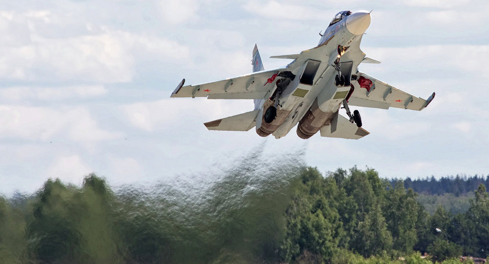 Russian Aerospace Forces to Recieve Further 55 Su-30SM Fighters till End of 2018