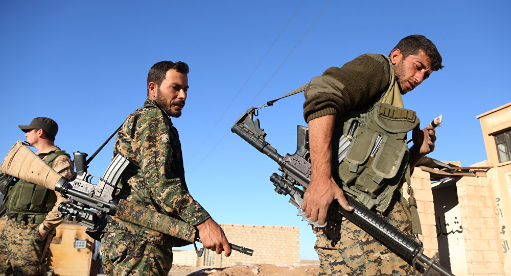 U.S. Coalition: SDF Not to Advance Further in Northern Syria after Taking Manbij