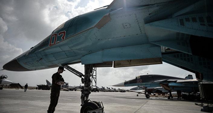 Russian Aerospace Forces Destroy Terrorists Oil Facilities in al-Hasakah Province