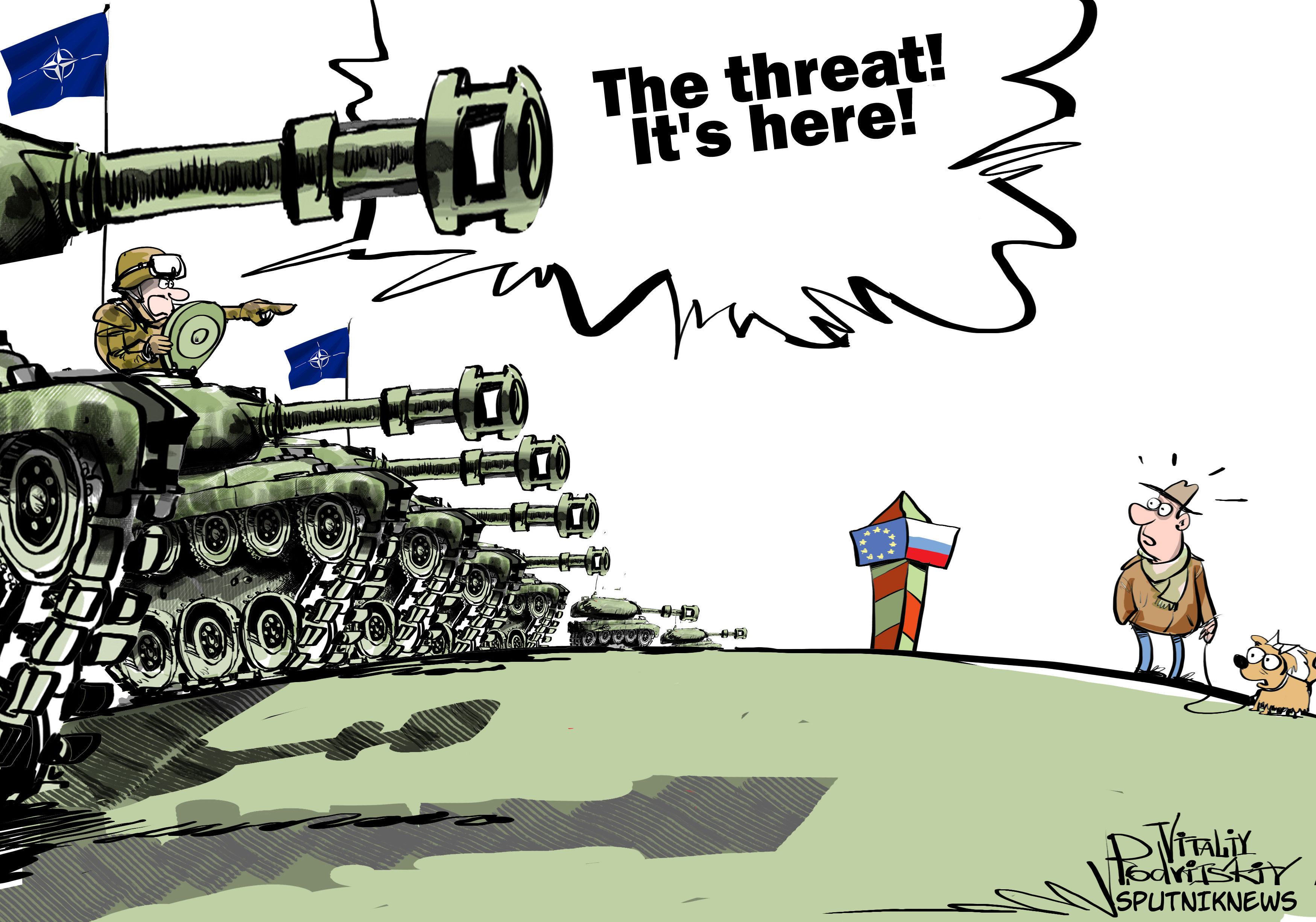 German Troops Towards Lithuania: NATO Starts Encirclement of Russia
