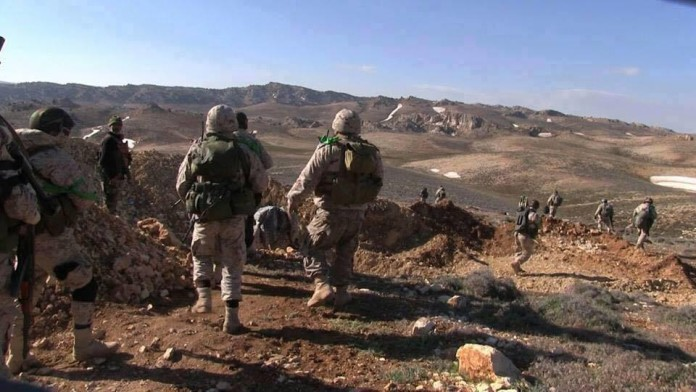 Hezbollah expands military operations along the Lebanese-Syrian border
