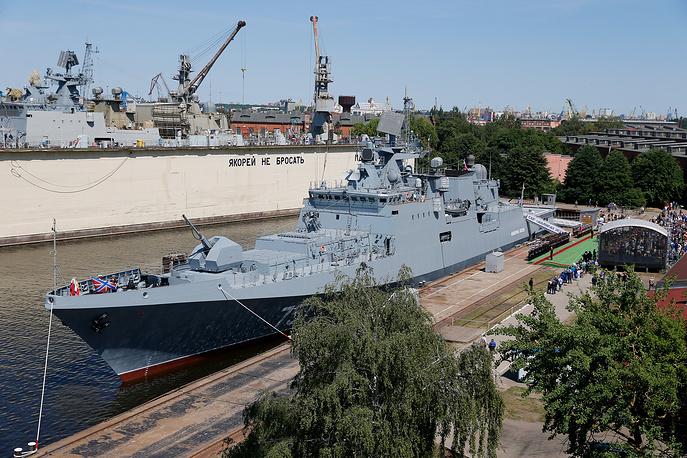 Russian Black Sea Fleet Gets New Admiral Essen frigate