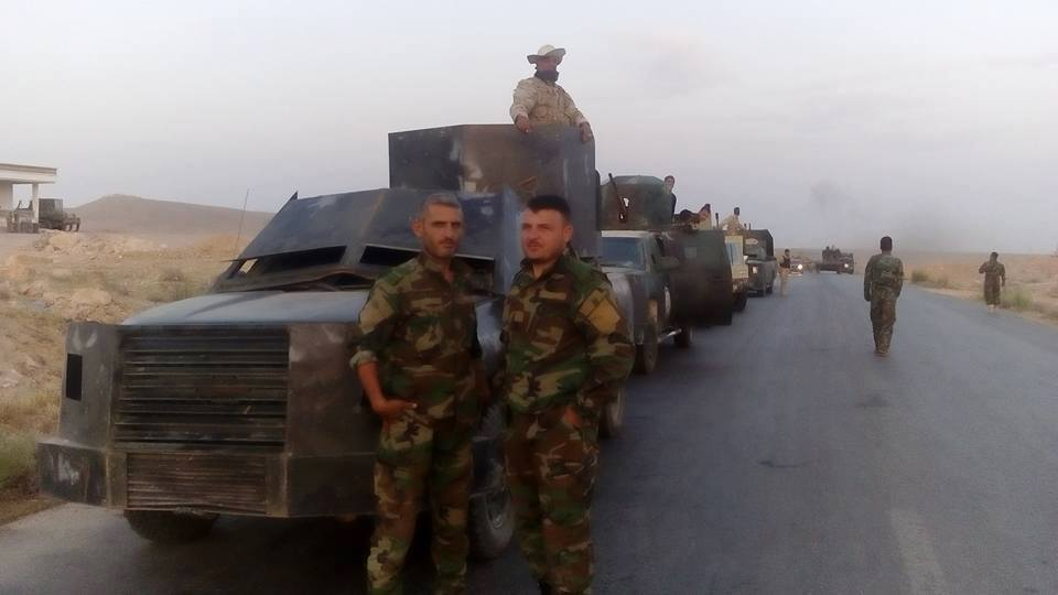 Syrian Army reaches the Raqqa border