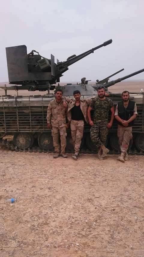 Syrian Army reaches the Raqqa border
