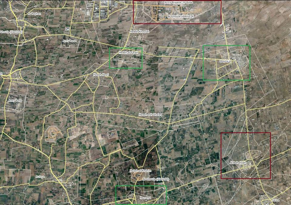 Syrian Army, Hezbollah Seize Another Town in East Ghouta
