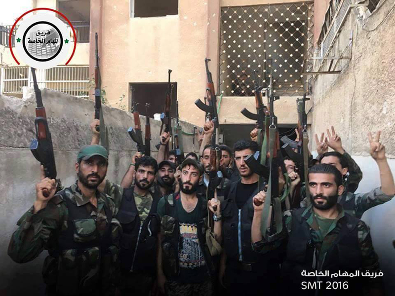 Syrian Army storms northern Aleppo