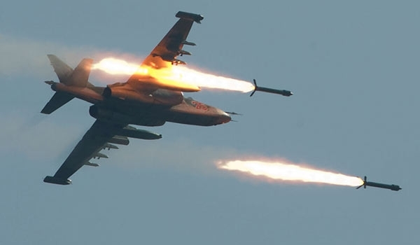 Russian Air Force delivers heavy airstrikes over southern Aleppo