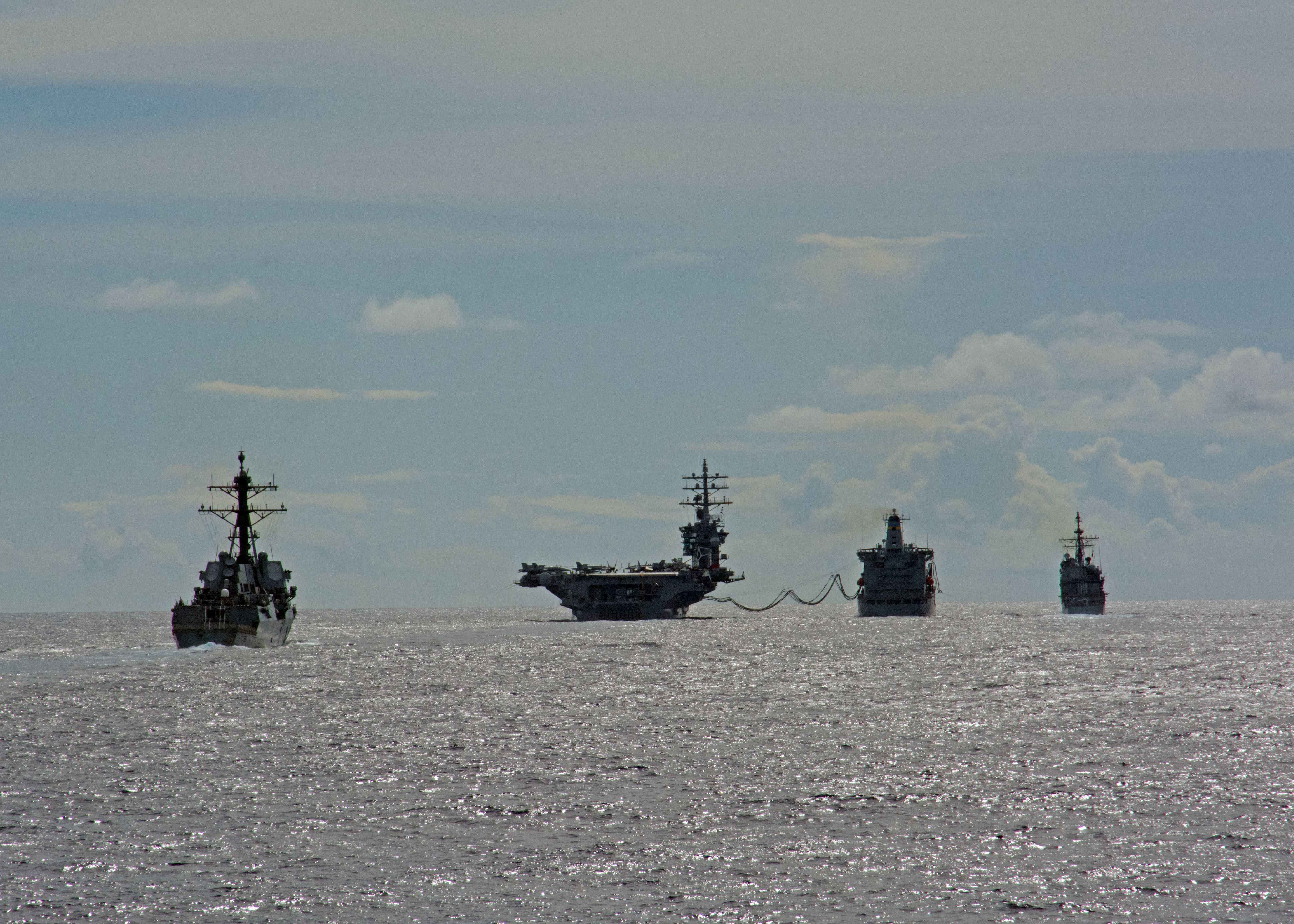 2nd US Aircraft Carrier Enters Mediterranean Sea