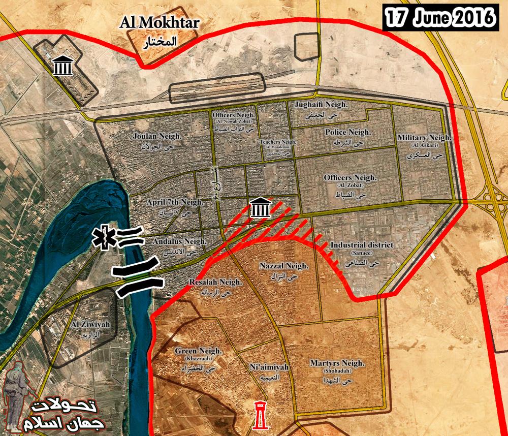 Iraqi Forces Retake Main Government Compound in Centre of Fallujah