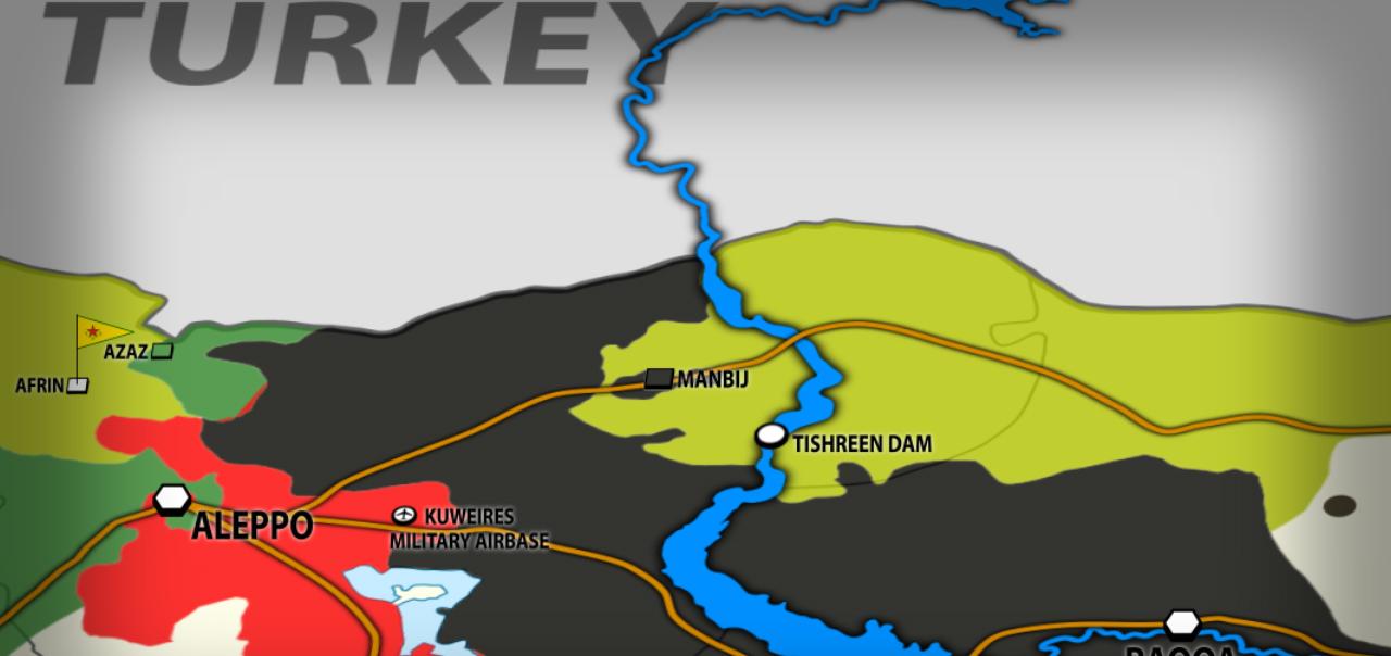 Syrian Democratic Forces Encircle Manbij. 130 ISIS Militants Killed
