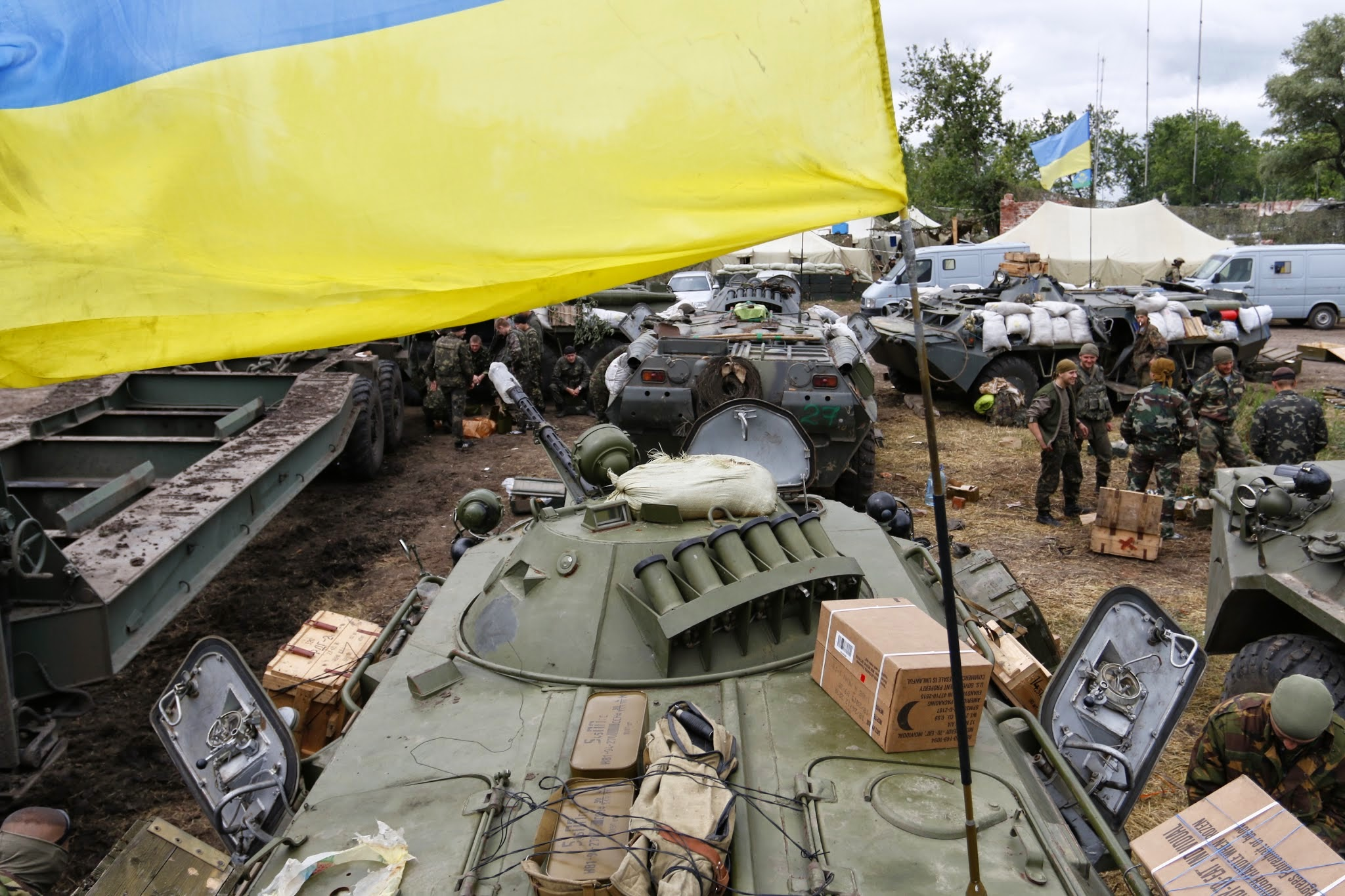 Fighting Increases in Donbass Region