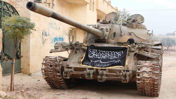 Militants Amass Armored Eqipment in Northwestern Aleppo