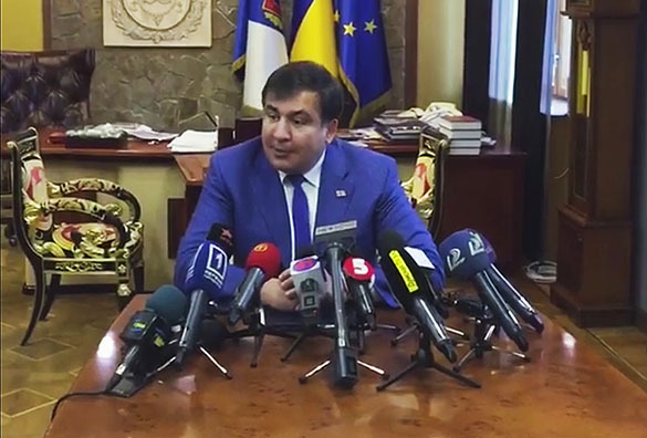 """Revelation from Ukrainian Governor Saakashvili: """"The Situation in the Country is Worse than in Putin's Russia"""""""