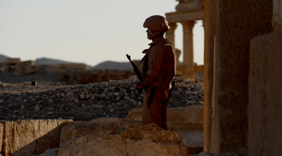 Russian MoD Confirms 1 Marine Dead in Clashes in Syria