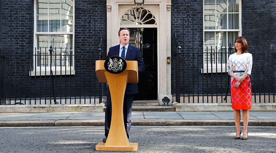 BREXIT: UK Voted to Leave EU. Cameron to Leave Office