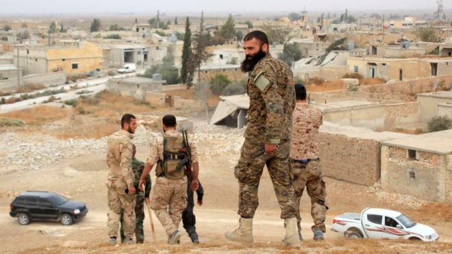 Zero hour approaches northwest Aleppo as the Syrian Army prepares to attack