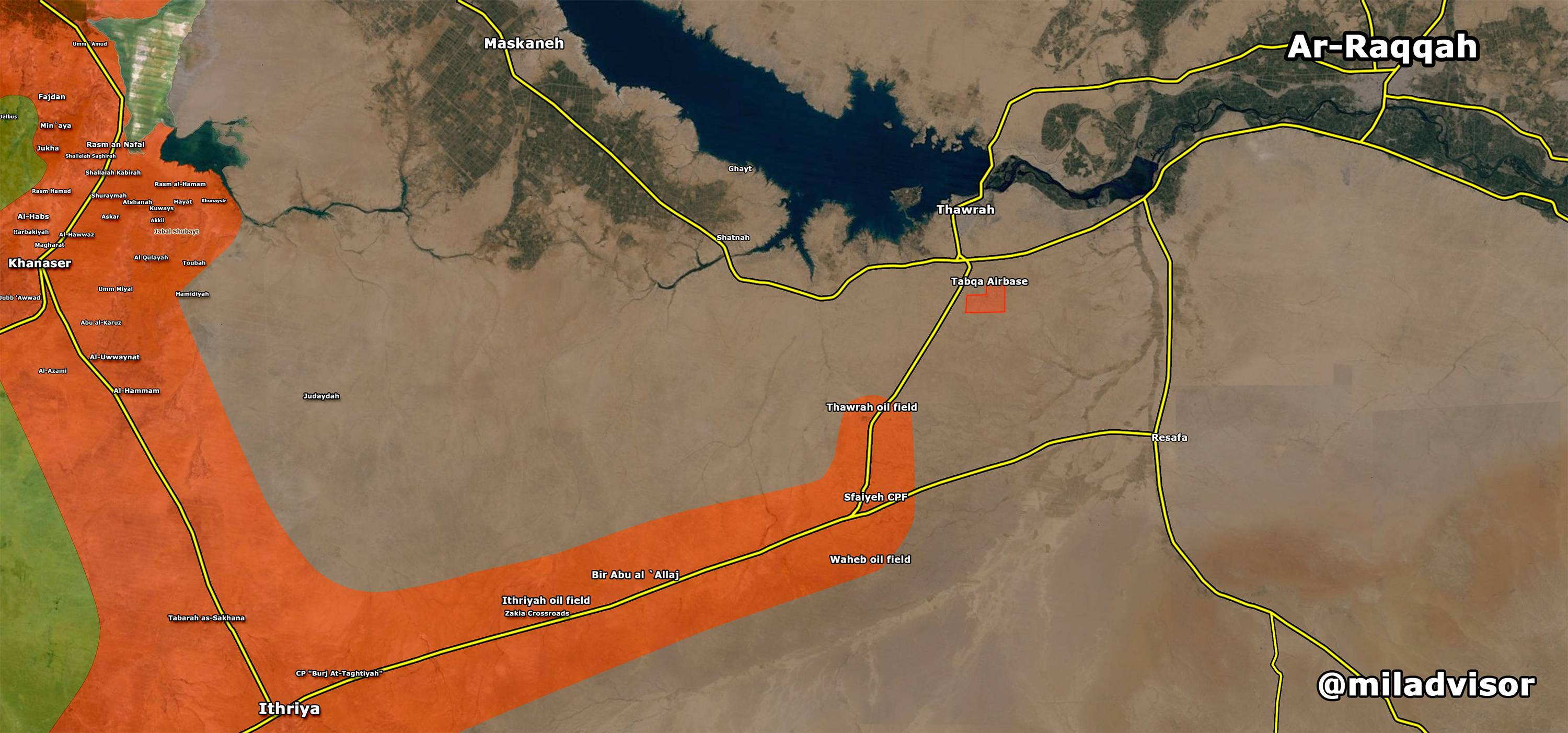 ISIS Retakes Sfaiyeh Oil Field, Pushes Government Forces Back