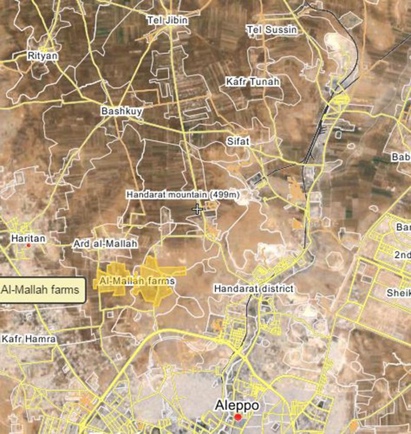 Syrian Army advances in northern Aleppo