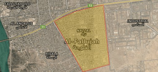 Iraqi Forces Are in Centre of Fallujah