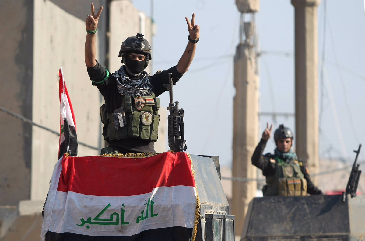 Iraq's Forces Liberate more areas near Fallujah