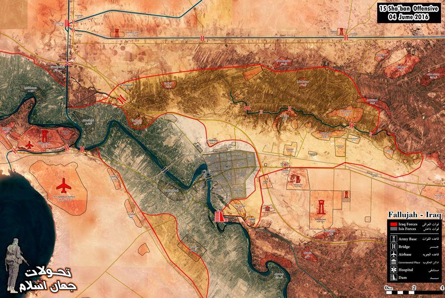 Battle for Fallujah. ISF Liberates Saqlawiyah and Albu Shajal