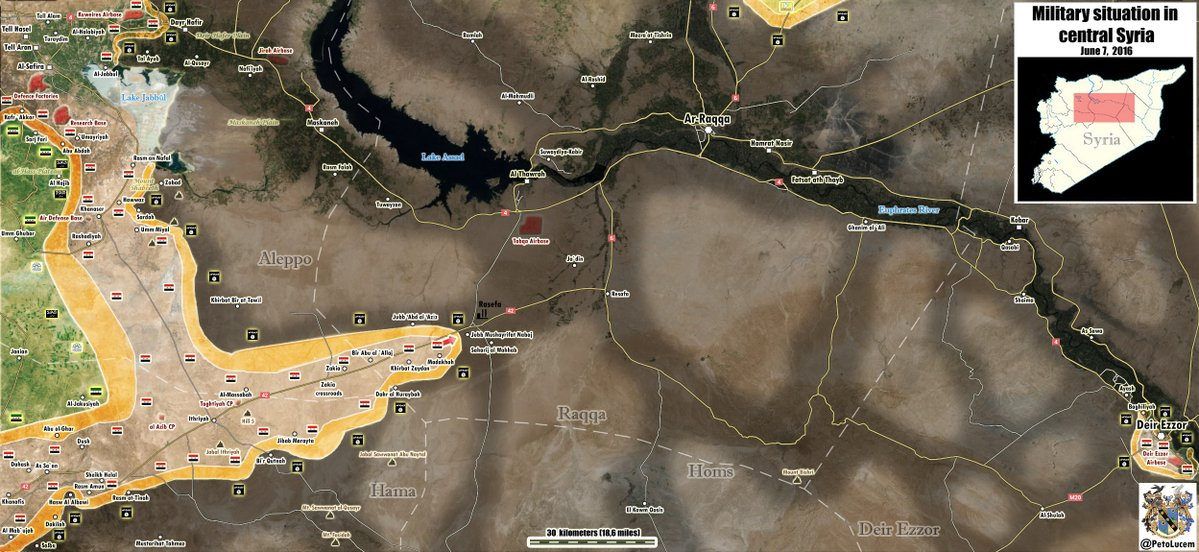 Syrian Army Liberates More Villages on Way to Raqqa, Prepares to Seize Key Gas Field