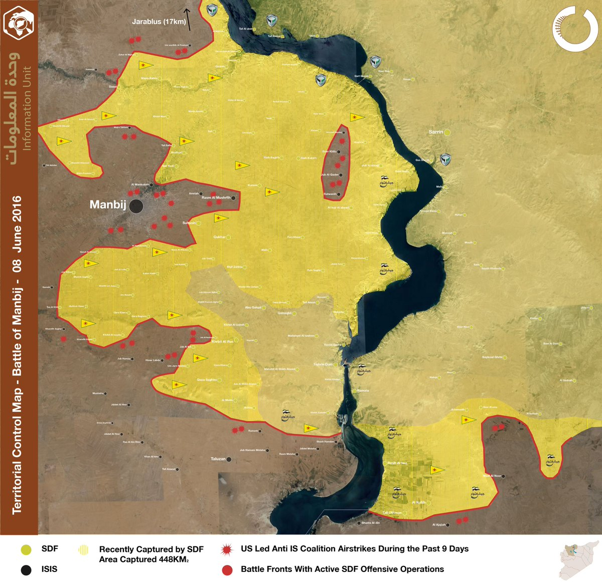 Syrian Democratic Forces Make Last Steps to Encricle Manbij