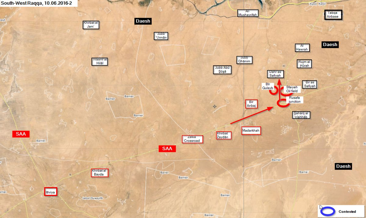 Syrian Army Gains More Ground on Way to Raqqa