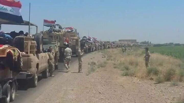 Iraq's Forces Prepare for Advance on al-Shirqat (Photoreport)