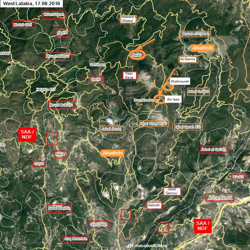 Al Nusra & Allies Counter-Attack in Syria's Latakia, Re-Take 3 Vilalges