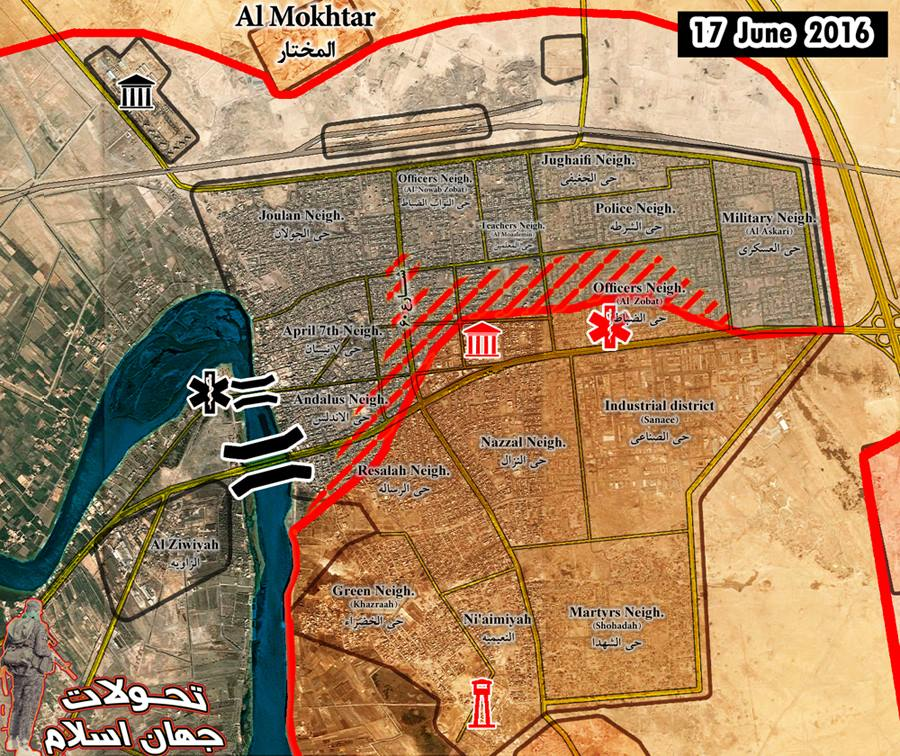 ISIS Collapses in Fallujah as Iraqi Army Takes More Ground
