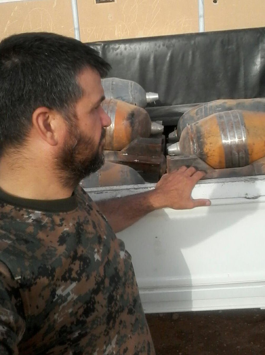 Syrian Army Seized ISIS Cache of Mortar Shells in Western Raqqa (Photo Report)