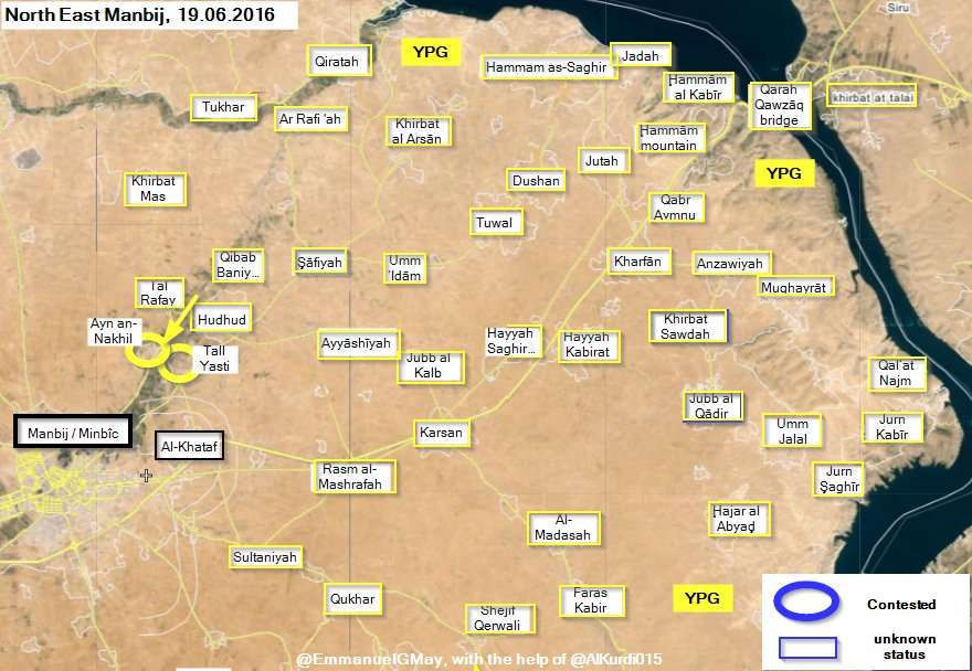 Clashes for Syria's Manbij - Updates