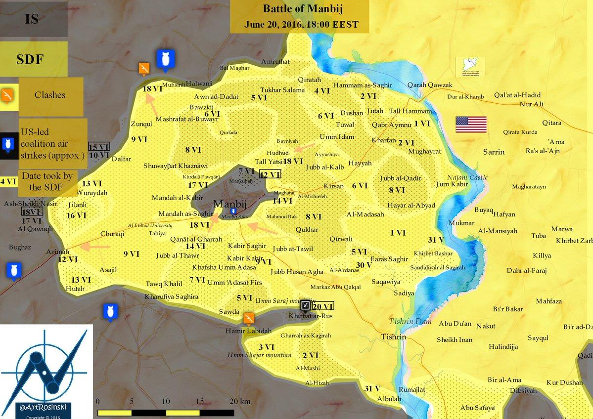 Manbij Assault: Keystone of the Aleppo Campaign