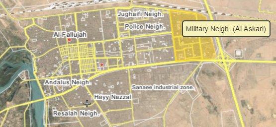 Iraqi Forces Liberate Al Askari Neighborhood of Falluajh