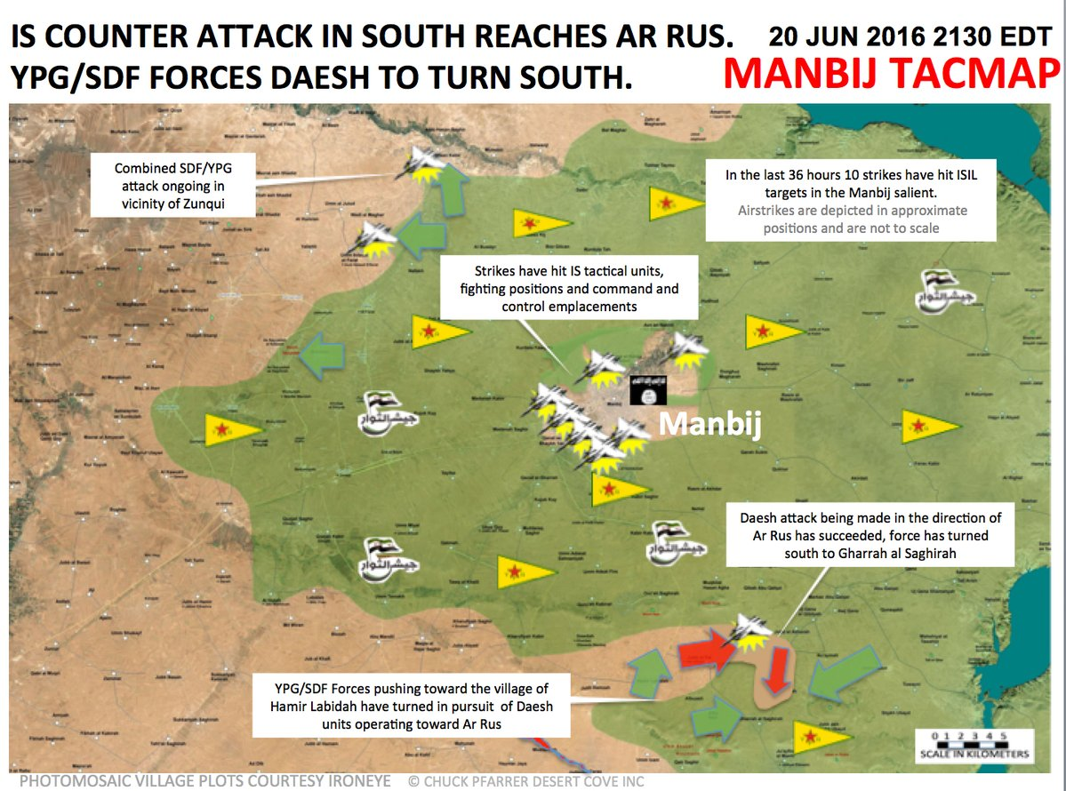 ISIS Developing Counter Attacks against SDF and Syrian Army in Raqqa and Aleppo Provinces