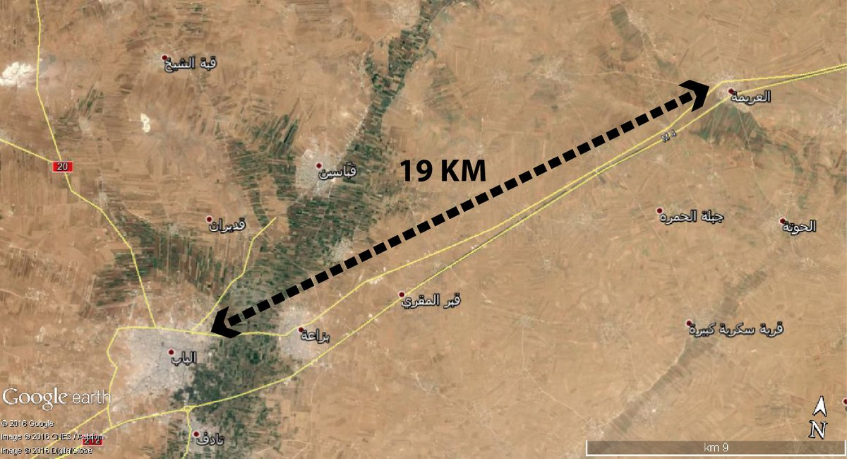 Syrian Democratic Forces in 19km from Al Bab