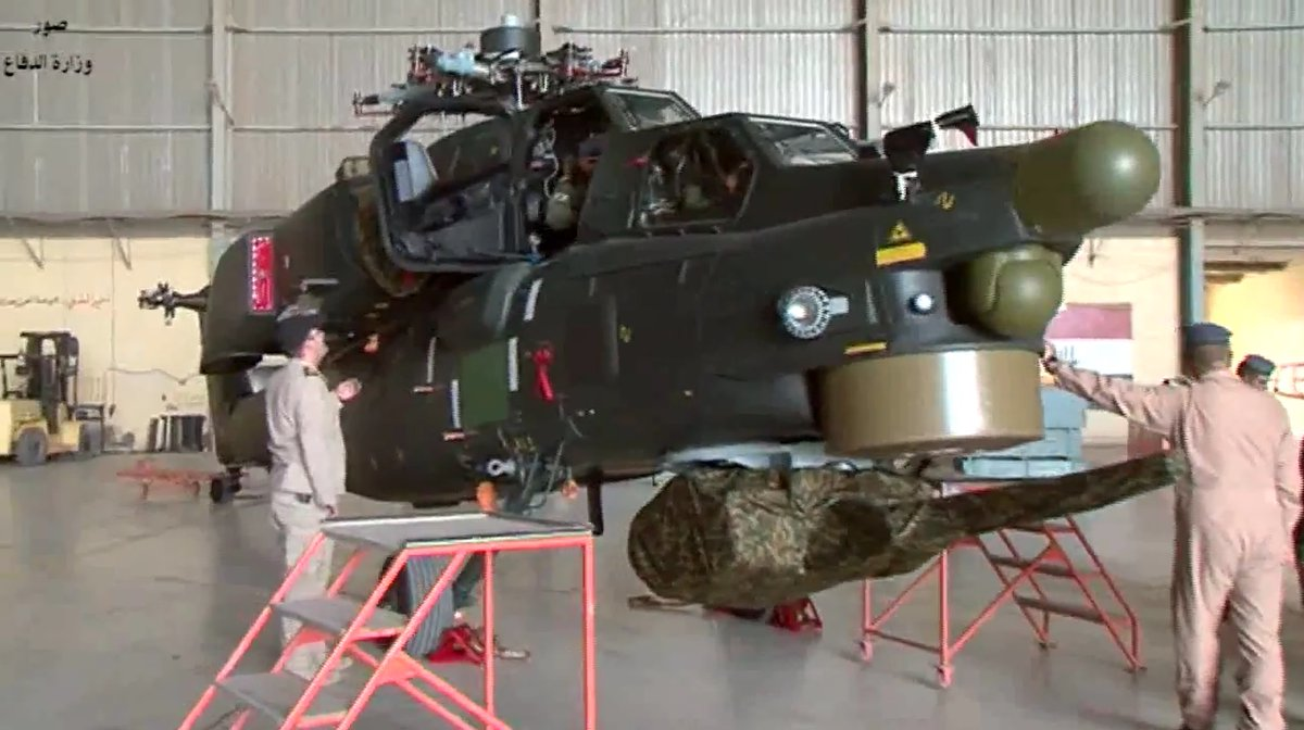 Iraq Recieved from Russian New Batch of Mi-28NE Military Helicopters (Video)