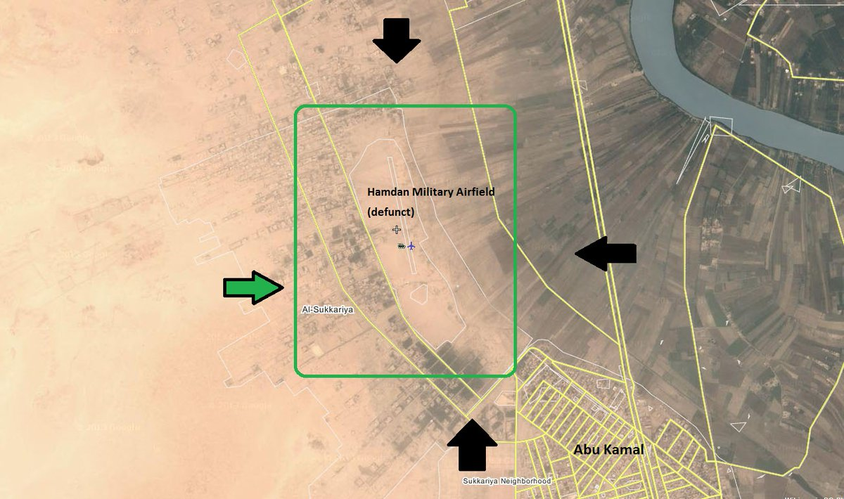 US-backed 'New Syrian Army' Launching Major Operation at Syria-Iraq Border (Maps, Video)